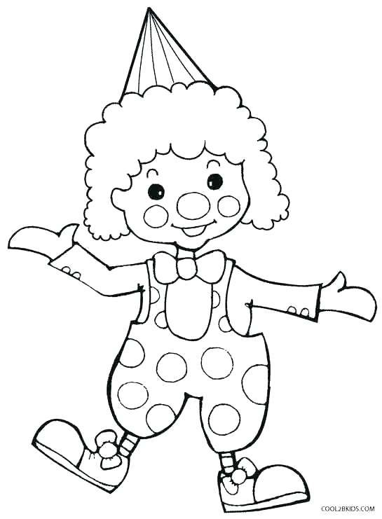 Clown Face Coloring Page Clown Coloring Pages Clown Coloring