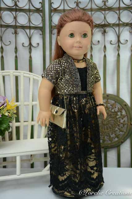 American Girl or 18 Inch Doll Cinderella by LorelieCreations