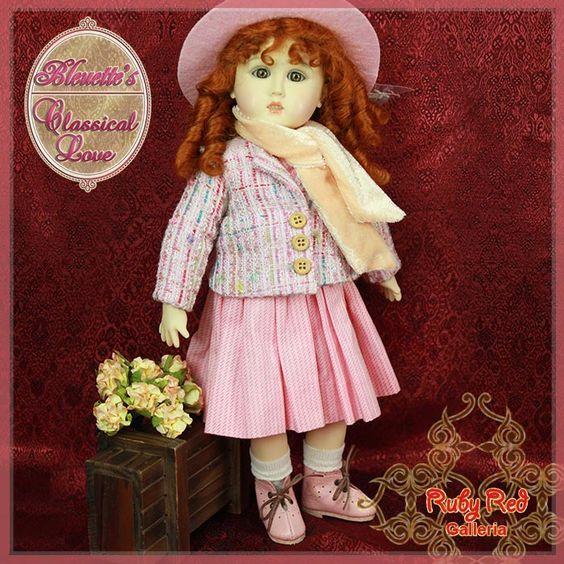 EC0030B Classical Love (no wig) - Bleuette Cloth Set [EC0030B] - $60.90,
