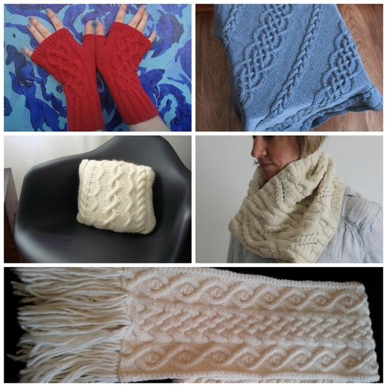10 FREE Aran Knitting Patterns on Craftsy Traditional, Beautiful and Knit p...