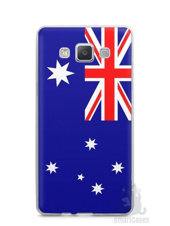 Capa Samsung A5 Bandeira da Austrália - SmartCases - Acessórios para celulares e tablets :)