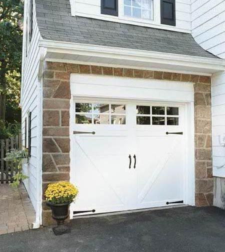 Clopay coachman collection steel carriage house garage for Clopay steel garage doors