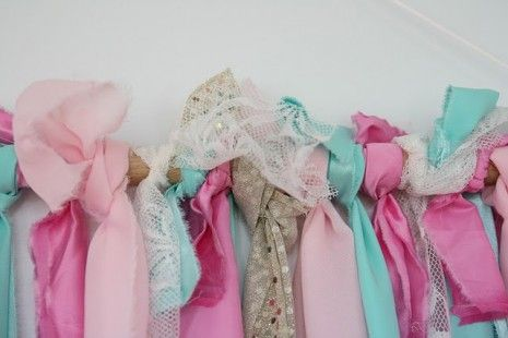 DIY Tutorial From a Catch My Party Member - How to Make a Ribbon Backdrop | Catch My Party