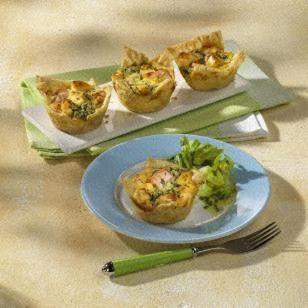 Porree-Lachs-Pastetchen Rezept