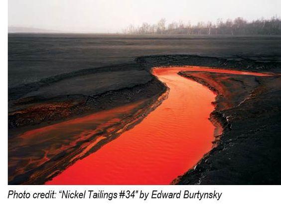 """Nickel Tailings #34"" Edward Burtynsky"