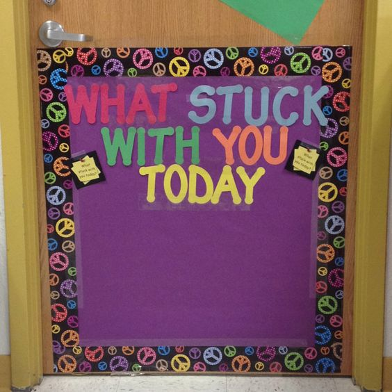 So many possibilities...can be adapted in so many ways...LOVE IT! The kids do an exit ticket on a sticky note and stick it on the door in the way out for a quick assessment of understanding.