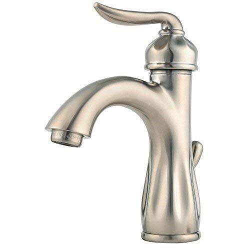 Pfister Lf042lt0k Sedona Single Control 4 Inch Centerset Bathroom Faucet In Brushed Nickel Water Efficient Model Review Bathroom Faucets Brushed Nickel Single Handle Bathroom Faucet Bathroom Faucets