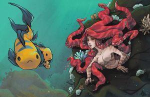 The Little Mermaid by KuroiChoucho