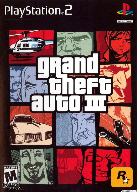 """Grand Theft Auto III... First """"mature"""" rated game I ever played."""