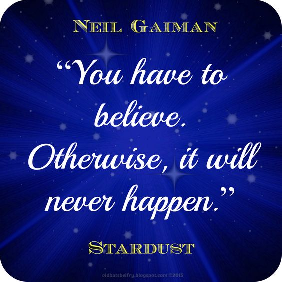 Neil Gaiman Quote From Stardust ~ Topography by Mulluane: