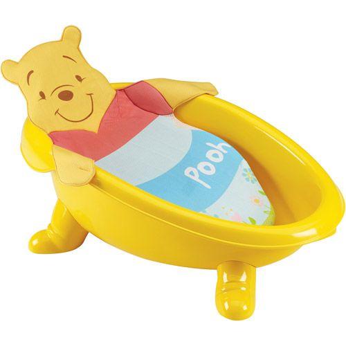 disney winnie the pooh infant bath tub winnie the pooh nursery pinterest disney walmart. Black Bedroom Furniture Sets. Home Design Ideas