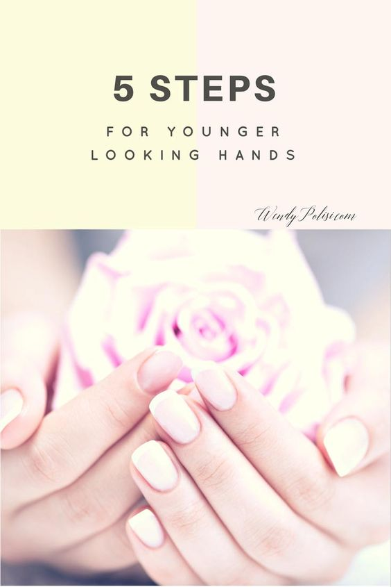 5 Tips for Younger Looking Hands - As we get older, keeping our hands younger…