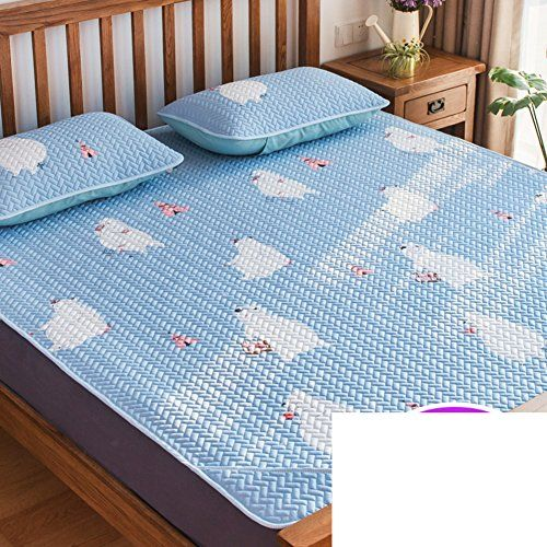 Cooling Mattress Topper Pad Quilted Soft Sleeping Pad Mat