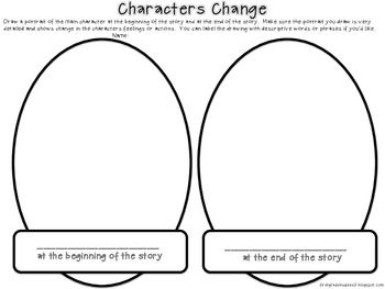 Worksheets Character Change Worksheet graphic organizers and graphics on pinterest characters change a organizer free