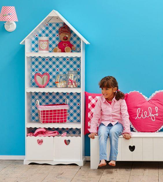 Speelhuis Karlijn van lief!: leuk voor de meisjeskamer met veel opbergmogelijkheden voor al haar spulletjes #inspiratie #kidsroom #girlsroom #kinderkamerkast