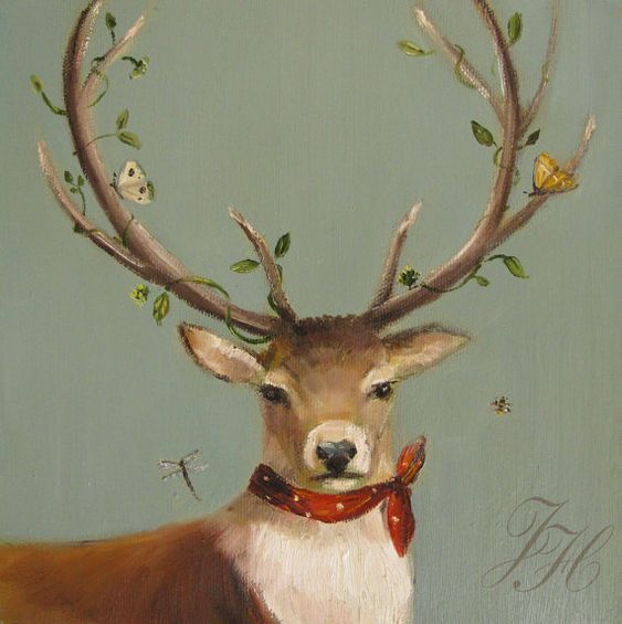 Peinture de Janet hill