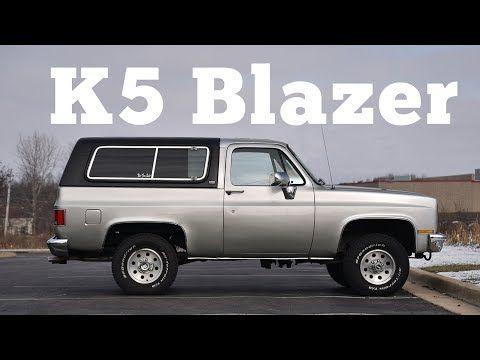 1990 Chevrolet K5 Blazer Regular Car Reviews Youtube With Images K5 Blazer Chevy Blazer K5 Car Review