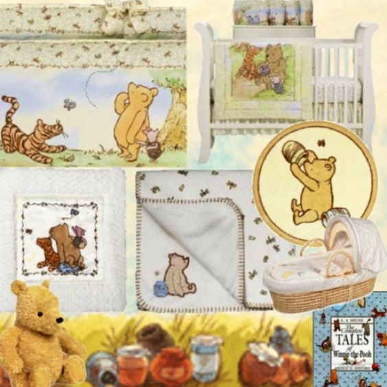 Pinterest the world s catalogue of ideas for Classic pooh nursery mural