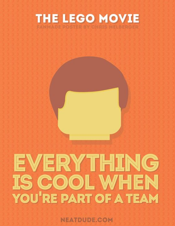 Minimalist Classroom Quotes ~ The lego movie gets an awesome makeover with minimalist
