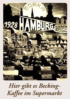 Becking Spezialitäten Kaffeerösterei Hamburg
