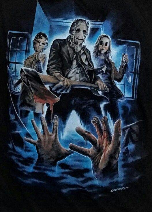 The Strangers Horror Movie Art Scary Movies Horror Artwork