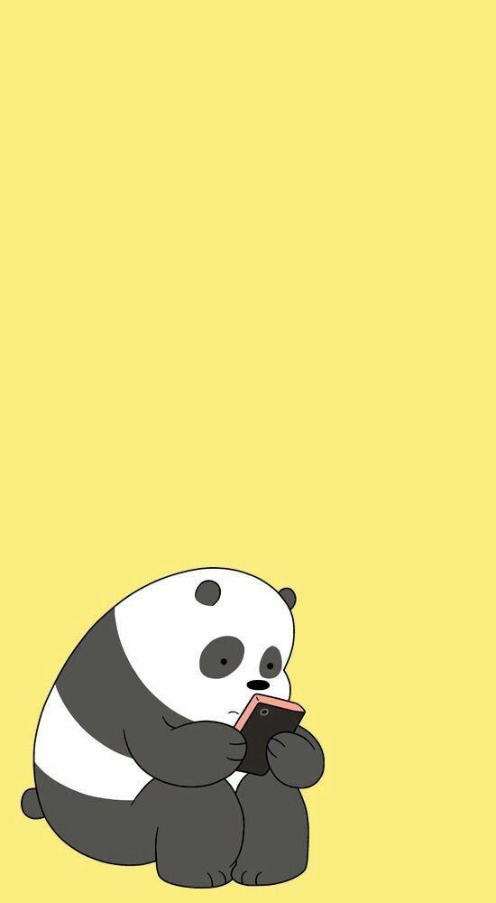 Aesthetic Wallpaper Cute Wallpaper Bear Wallpaper We Bare Bears Wallpapers Panda Bears Wallpaper