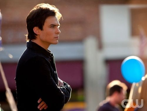 """""""Founder's Day"""" - Ian Somerhalder as Damon in THE VAMPIRE DIARIES on The CW. Photo: Bob Mahoney/The CW ©2010 The CW Network, LLC. All Rights Reserved."""