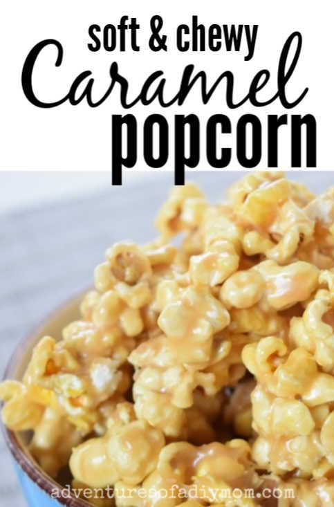 The Ultimate Soft And Chewy Caramel Popcorn Recipe Recipe In 2020 Healthy Snacks Recipes Popcorn Recipes Caramel Caramel Popcorn