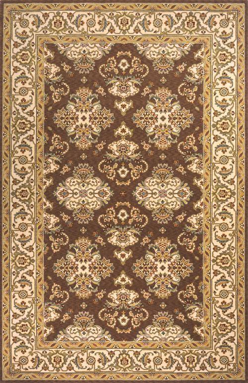 Momeni Persian Garden, 2'6 x 8' Runner, Brown