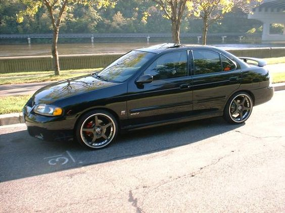 2003 Nissan Sentra SE-R Spec V. This would be a fun project.