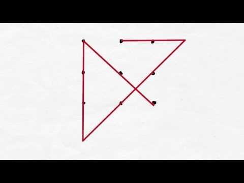 Desafía A Tus Peques Sois Capaces De Unir 9 Puntos Con 3 Líneas Rectas Sin Levantar El Bolígrafo Un Acertijo Para Niñ Juegos De Matemáticas Puntos Acertijos