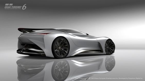 "Infiniti  says that the Concept Vision GT represents ""a vision of what a high performance Infiniti could look like in the future"""
