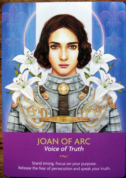 I love this set of oracle cards more and more as I use it. It is full of images of gods and goddesses, angels, spiritual teachers and enl...: