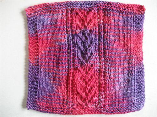 Knit Dishcloth Pattern Ravelry : Ravelry Free Knit Pattern - Lace Pattern dishcloth Knitting Inspiration (Di...
