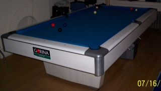 Gandy #Billiards Pro 8'  Pool Table