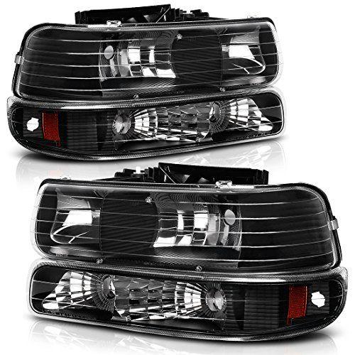 Headlight Assembly For 1999 2002 Chevy Silverado 1500 2500 2001 2002 Chevy Silverado 150 Silverado Headlights Silverado Accessories Chevy Silverado Accessories