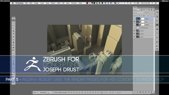 ZBrush for Concepting - Part 5