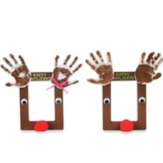 17 best images about christmas photo frame craft we for Popsicle stick picture frame christmas