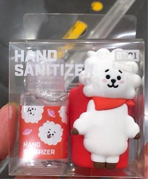 Bts Bt21 Official Hand Sanitizer 4 Character Set Line Friends