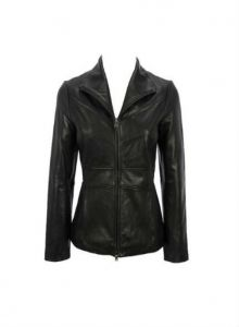Kenneth Cole Scuba Leather Jacket