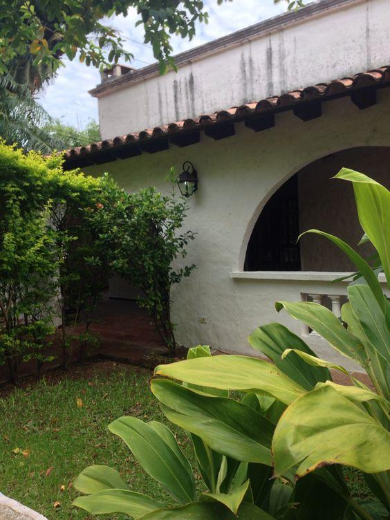 Detalle de una casa . Asunción-Paraguay