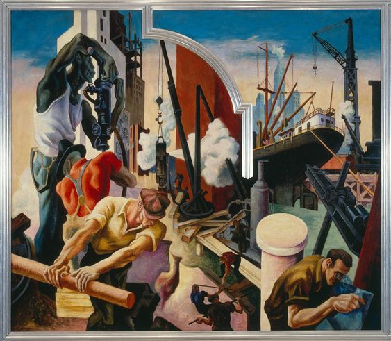 America Today | Thomas Hart Benton | 2012.478a-j | Work of Art | Heilbrunn Timeline of Art History | The Metropolitan Museum of Art