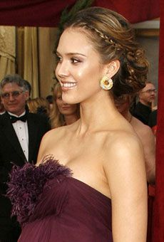 Brides: Wedding Makeup and Hairstyle Inspiration from Celebrities : Wedding Hairstyle Gallery