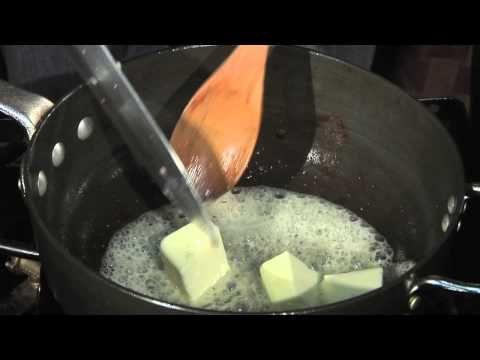Sauteed Mushroom Butter Sauce to Go With a Steak : Mushroom Recipes - YouTube