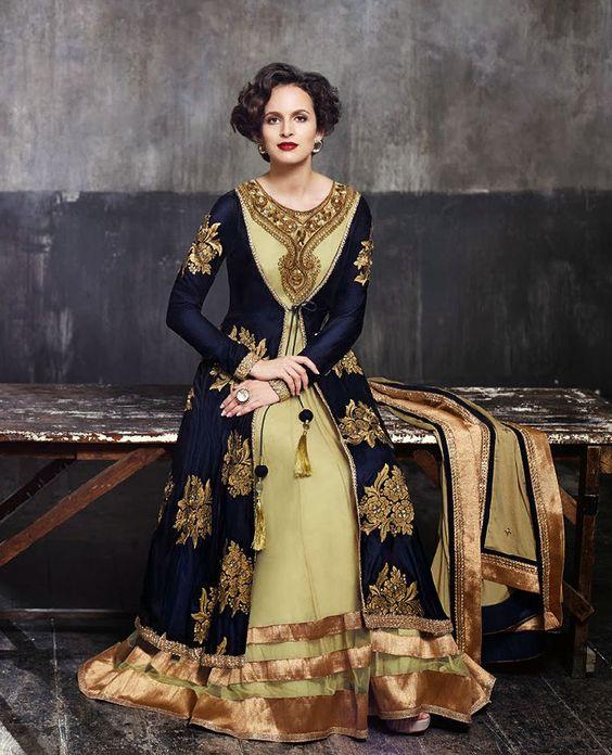 Indian Salwar Kameez Bollywood Designer Anarkali Salwar Kameez ...