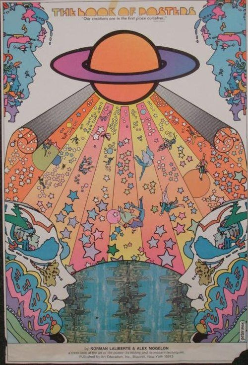 Butterfly Poster// Peter Max interpretation//Colorful Poster//Psychedelic POP ART
