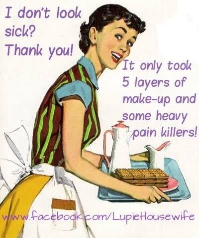 """""""But you look fine!""""  Chronic Pain ... what you can't see."""