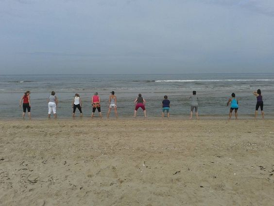 Beachtraining 26-6-2015