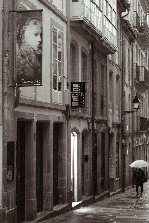 Galicia, Coruña, Santiago de Compostela. Marzo 2013