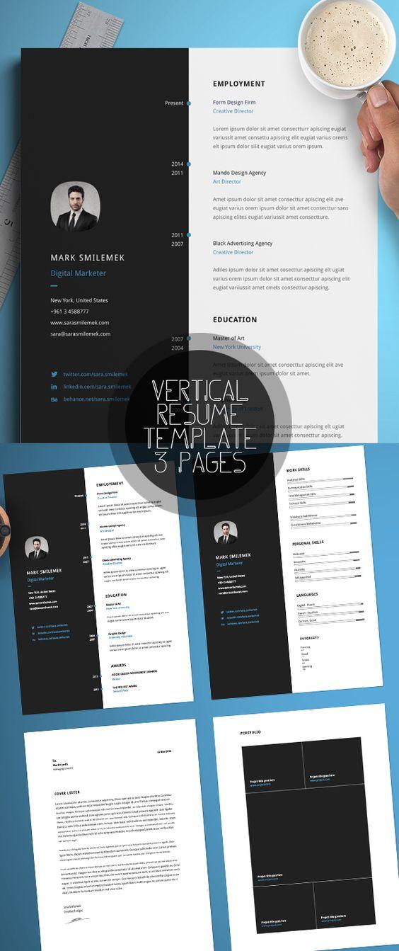 Creative A4 Free CV\/Resume Template #resumetemplate #minimalresume - advertising agency sample resume